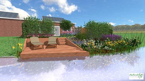 Tuin laten ontwerpen - Natuurlijk Tuinontwerp
