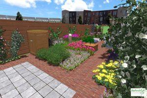 3D tuinontwerp klimaatproef tuinontwerp